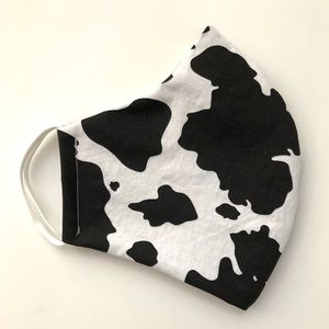 Accessories - 25% OFF 2/More Face Mask OSFM Cow Print Cotton